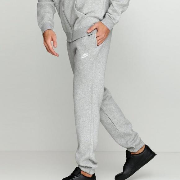 Secretario frotis Metropolitano  Nike Pants | Nwt Nike Mens Standard Fit Fleece Trousers | Poshmark